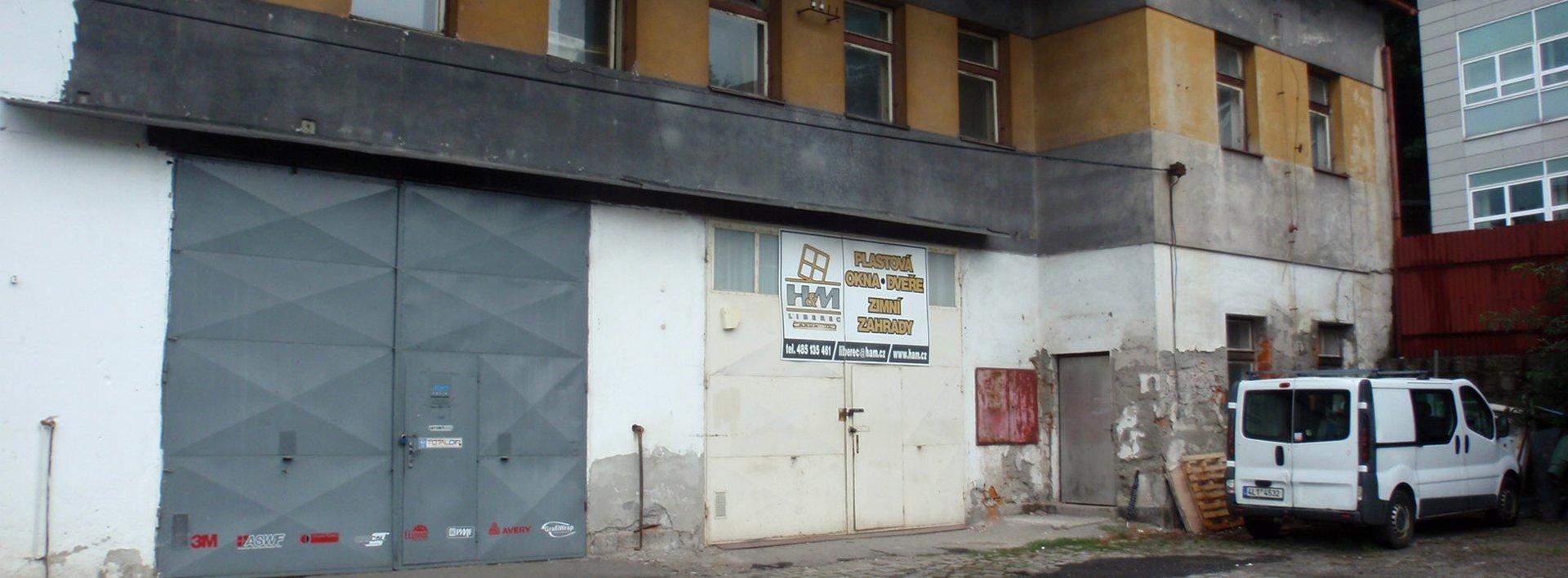 Pronájem prostoru - skladu 72 m² - Sokolská,  Liberec II-Nové Město