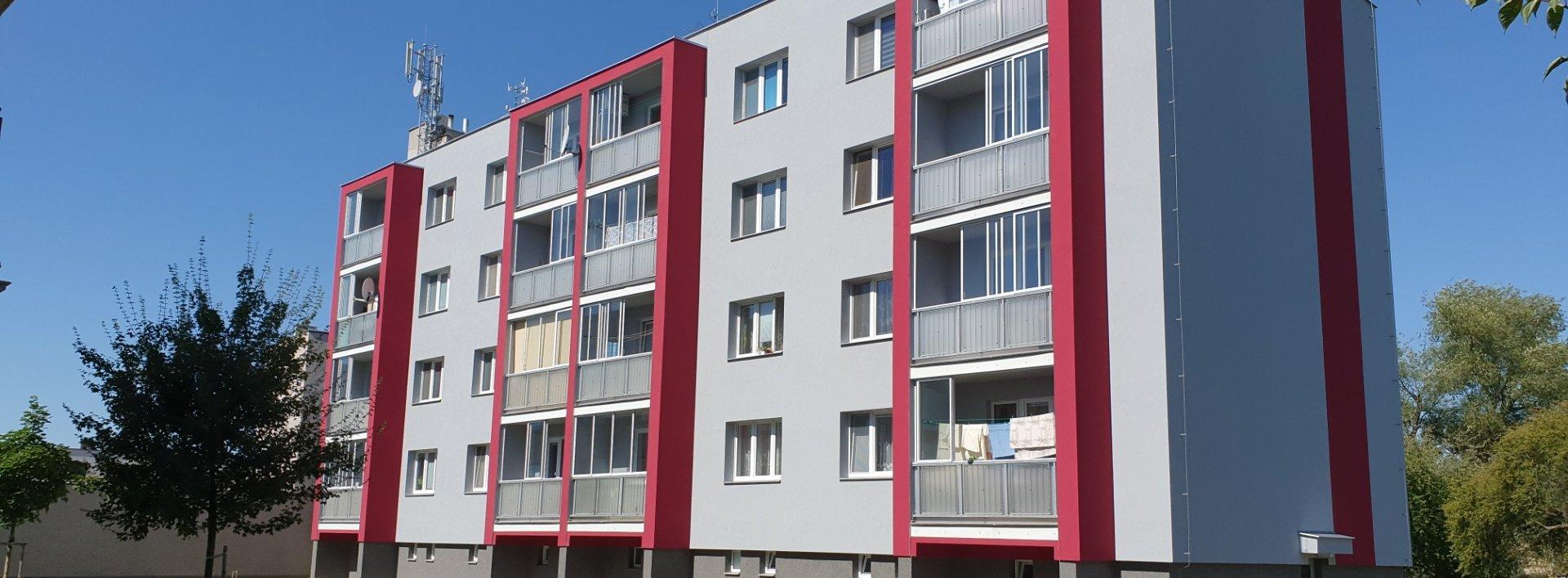 Cihlový byt 3+1 se zasklenou lodžií, 72m² - Lázně Bohdaneč, Ev.č.: N49160