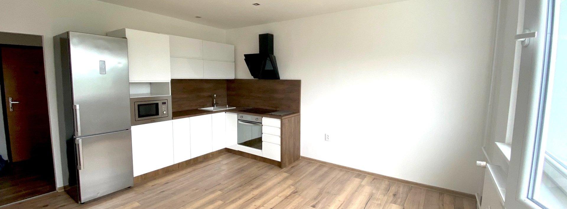 Pronájem zrekonstruovaného bytu 2+kk, 43 m² - Liberec - Rochlice, ul. Haškova, Ev.č.: N49233
