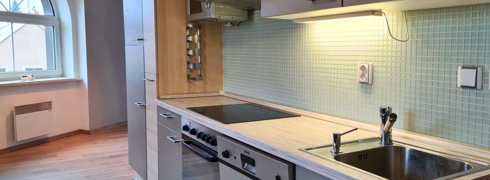 Pronájem designového bytu 1+1, 48m² v centru Liberce, Ev.č.: N49254