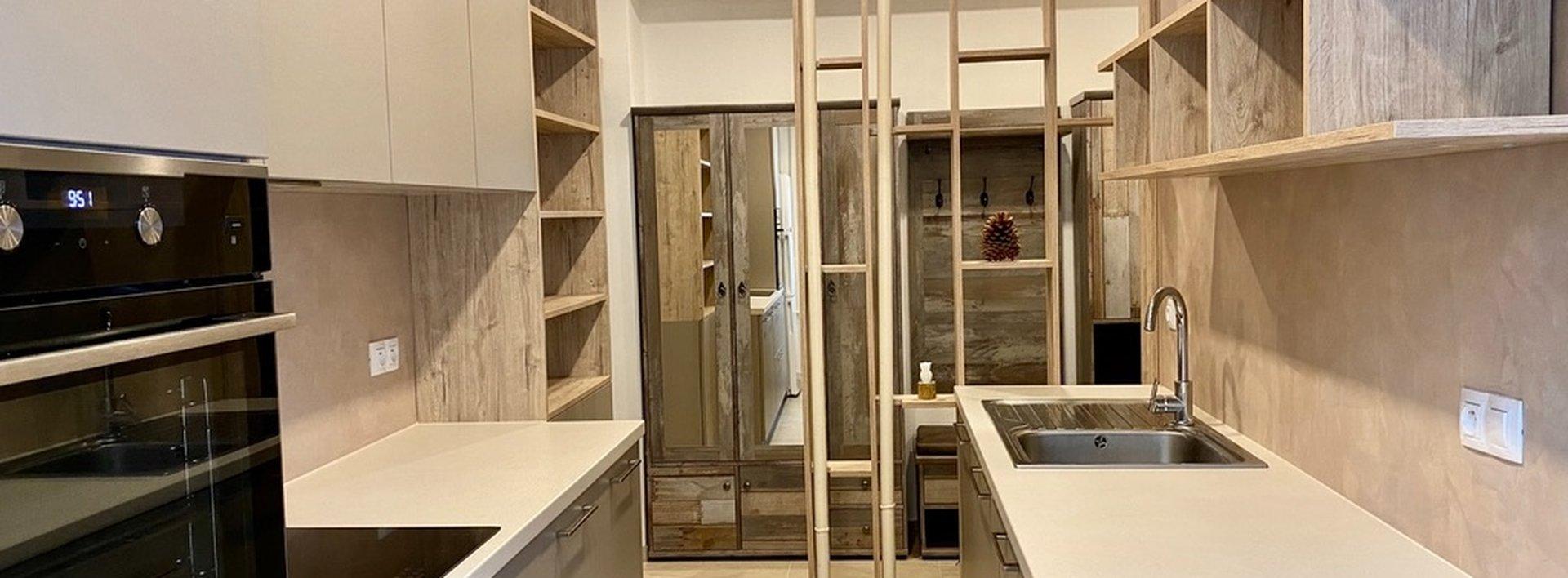 Pronájem bytu 3+1 s balkónem, 64 m² - Liberec - Kristiánov, ulice SNP, Ev.č.: N49285