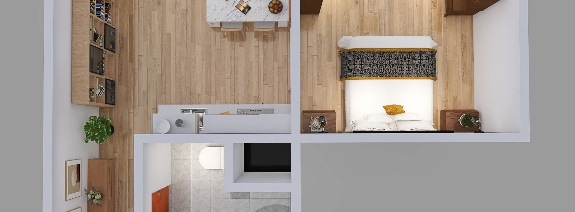 Kompletně zrekonstruovaný byt 1+1 nedaleko centra Liberce, Ev.č.: N49315