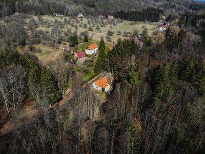Prodej, Chalupa, 146m² - Višňová - Saň