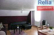 Obývací část apartmá penzion.