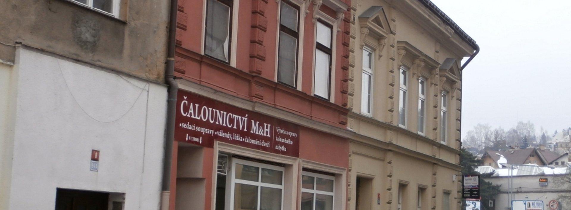 Víceúčelový objekt k podnikání i bydlení v centru Jablonce, Ev.č.: N46185