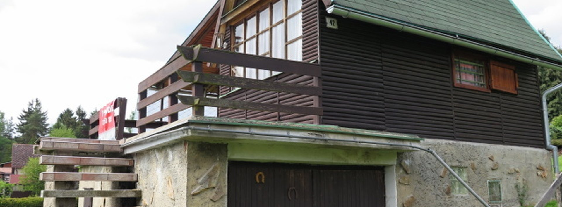 Rekreační chata nedaleko lesa, Ev.č.: N46303