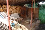 Udírna + přístavek na dřevo