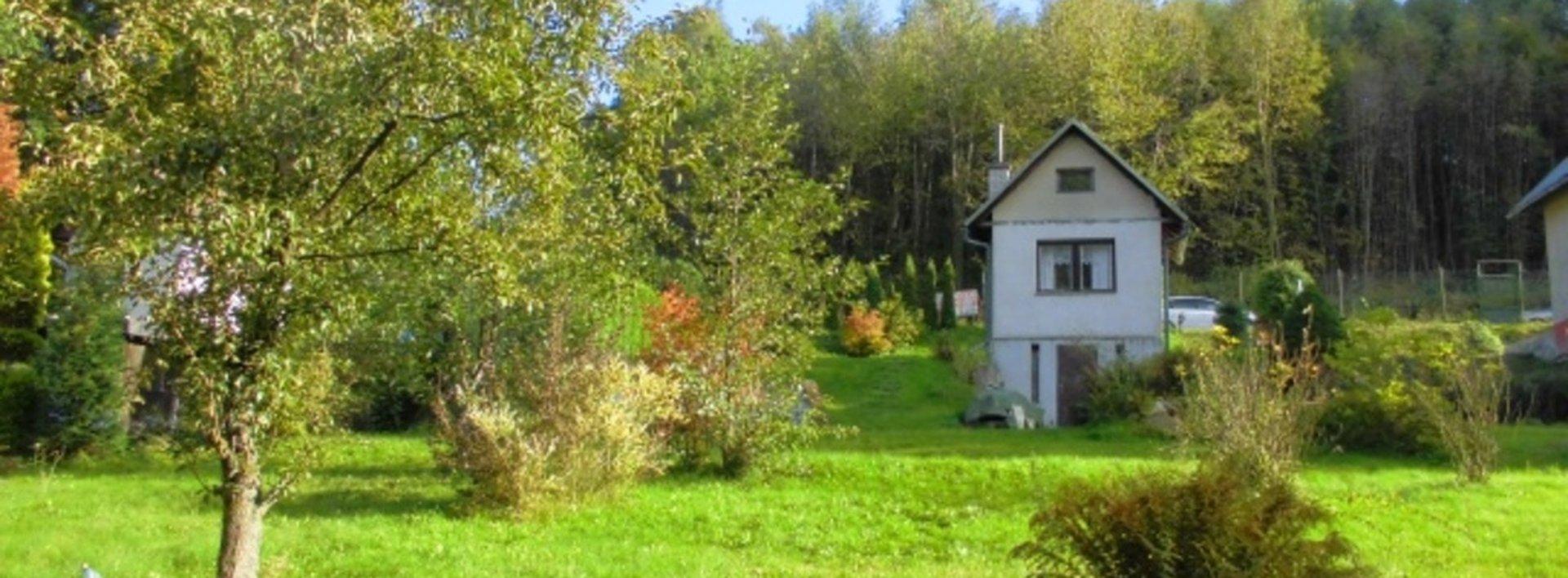 Zděná chatka na klidném a slunném místě, k.ú. Vesec u Liberce, Ev.č.: N46469