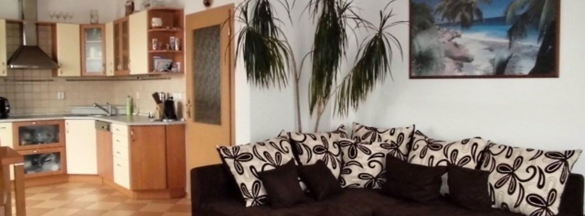 Moderní byt 2+kk s terasou a garážovým stáním, Pastelová ul., Ev.č.: N46507