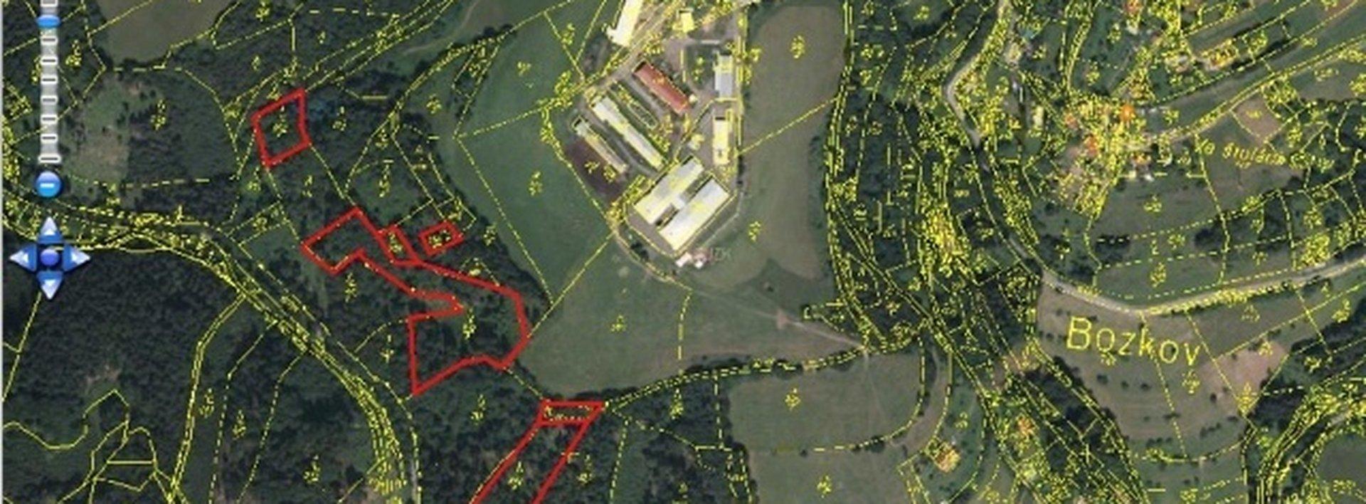 Lesní pozemek vhodný k mýtní úmyslné těžbě, 21684m2 (707m3), Ev.č.: N46607