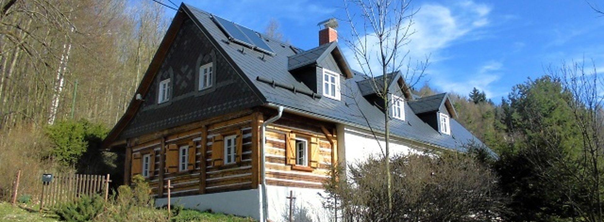 Malebná chata v žádaném místě Libereckého kraje, Ev.č.: N46670