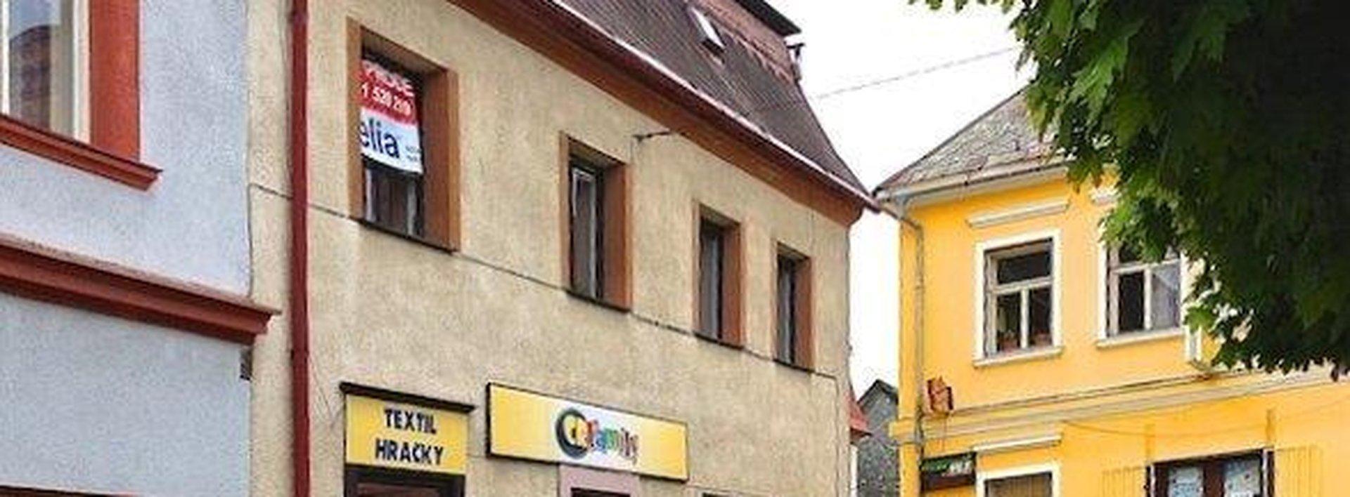 Činžovní dům s obchodem na náměstí v Hodkovicích n/M., Ev.č.: N46634-1