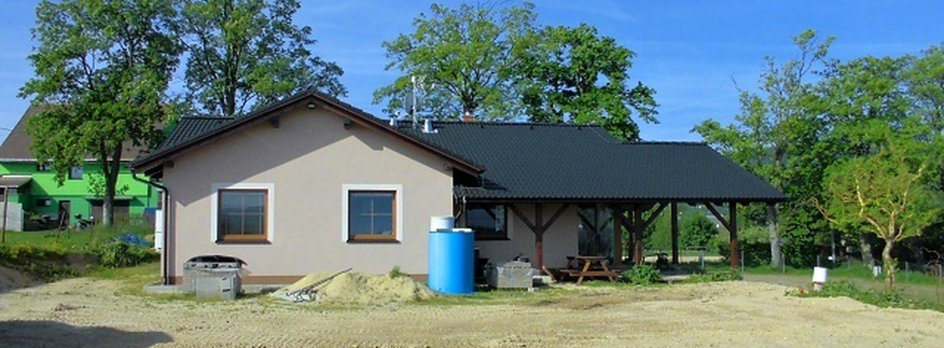 Novostavba přízmeního rodinného domu s nádhernými výhledy do přírody, Ev.č.: N46756