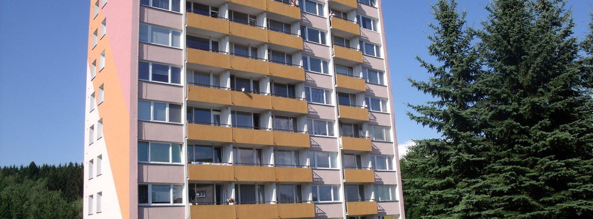 Prodej slunného bytu 3+1/L s krásnými výhledy v Tanvaldu, Ev.č.: N46771