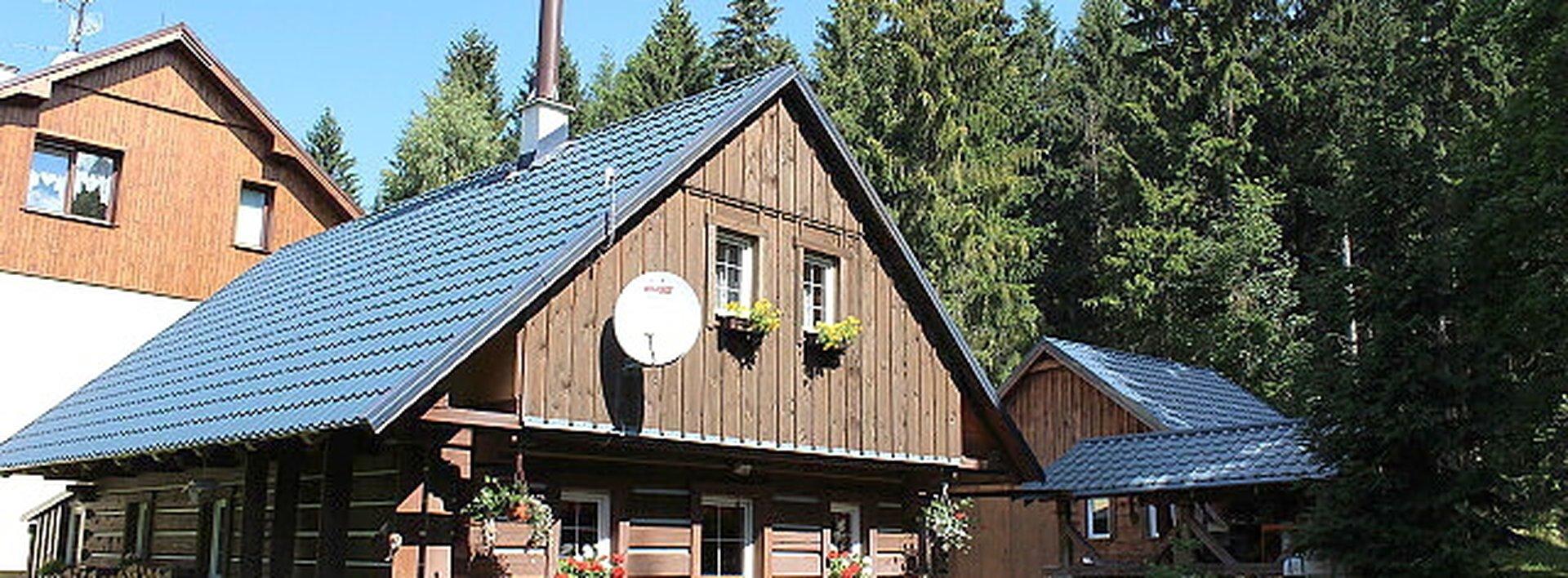 Prodej roubené dřevěnky, Harrachov, Krkonoše., Ev.č.: N46825