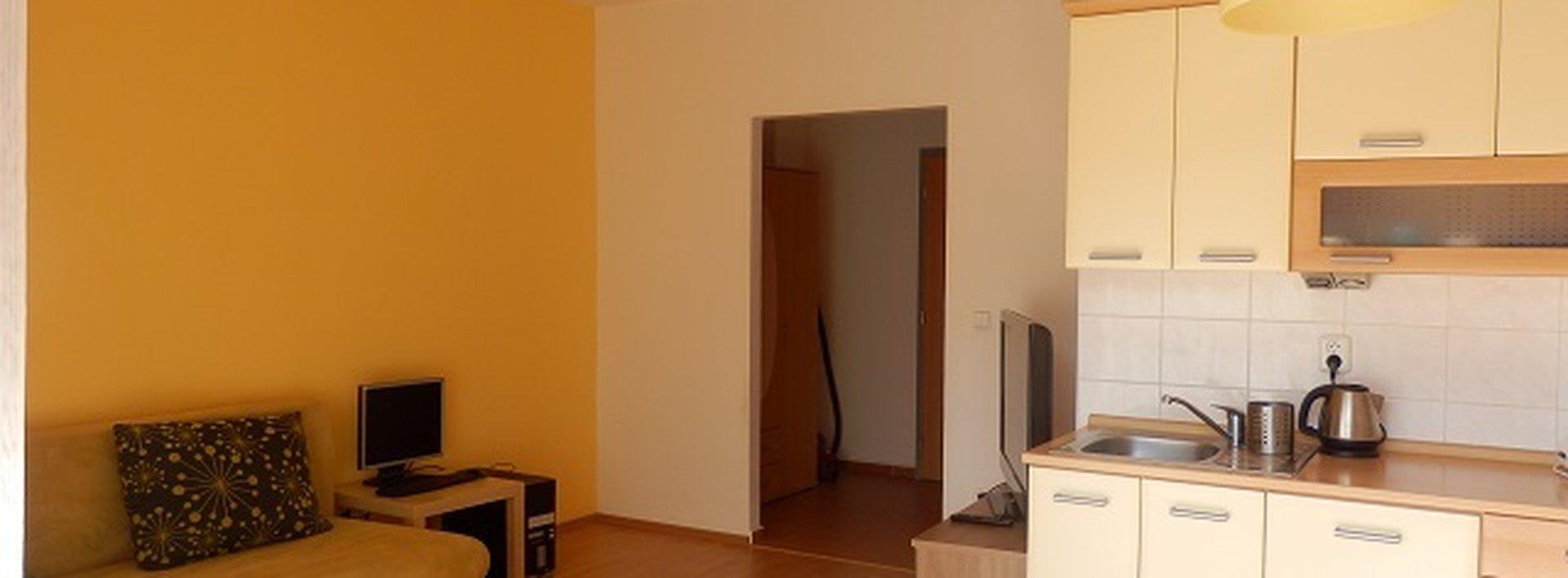 Podnájem slunného zařízeného bytu 1+kk, Ev.č.: N46887