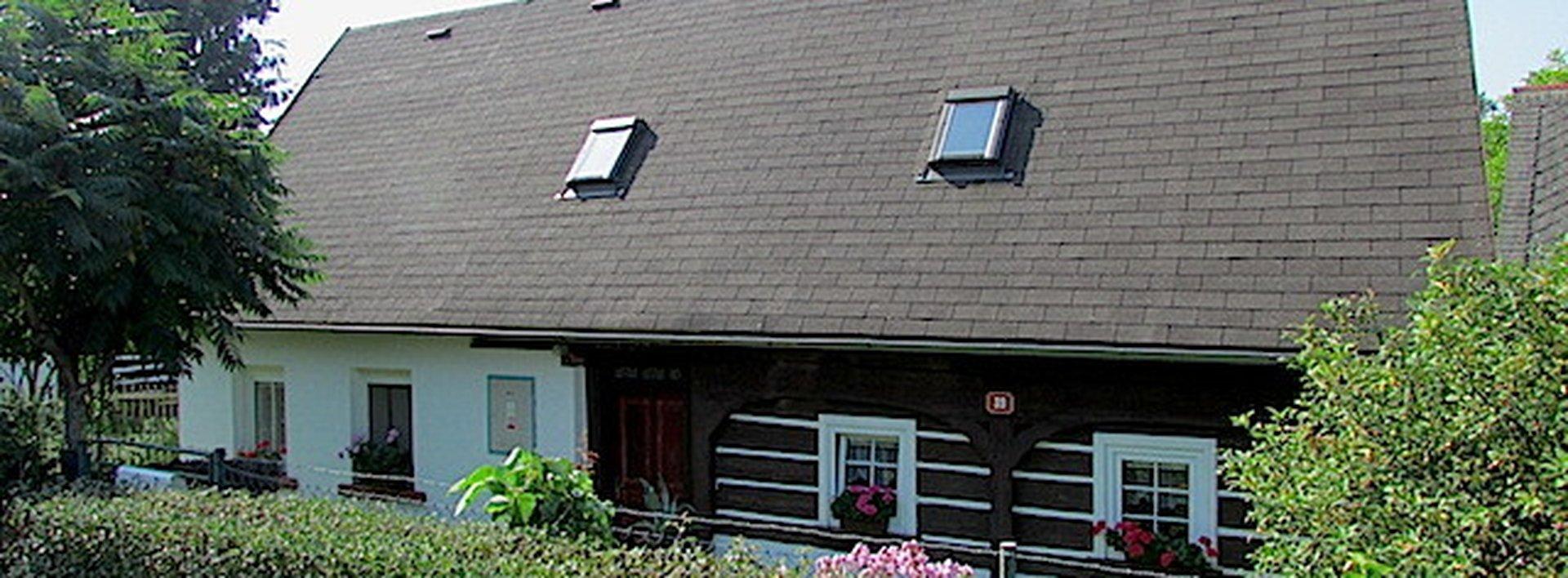 Prodej rodinného poloroubeného domku v Rynolticích, Ev.č.: N46891