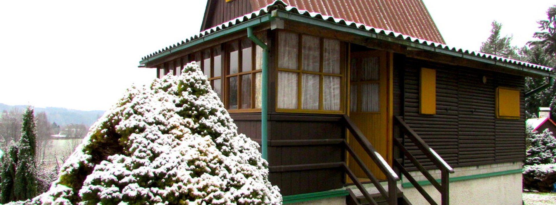Prodej rekreační chaty v blízkosti lesa v Rynolticích, Ev.č.: N47073