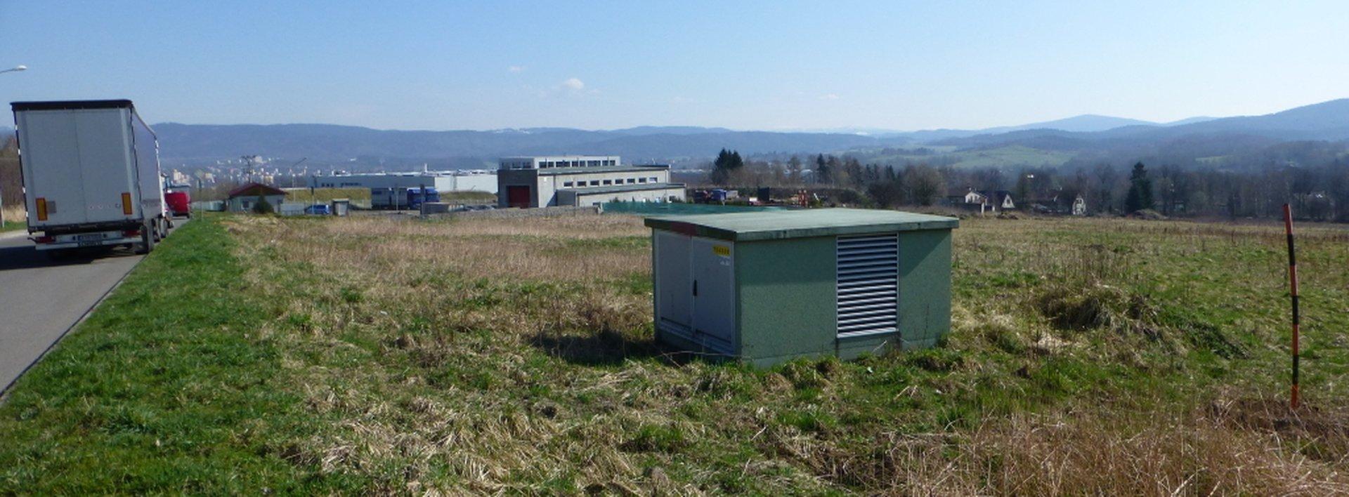 Komerční pozemek 15 285 m2 v průmyslové zóně JIH - Liberec, Ev.č.: N47241
