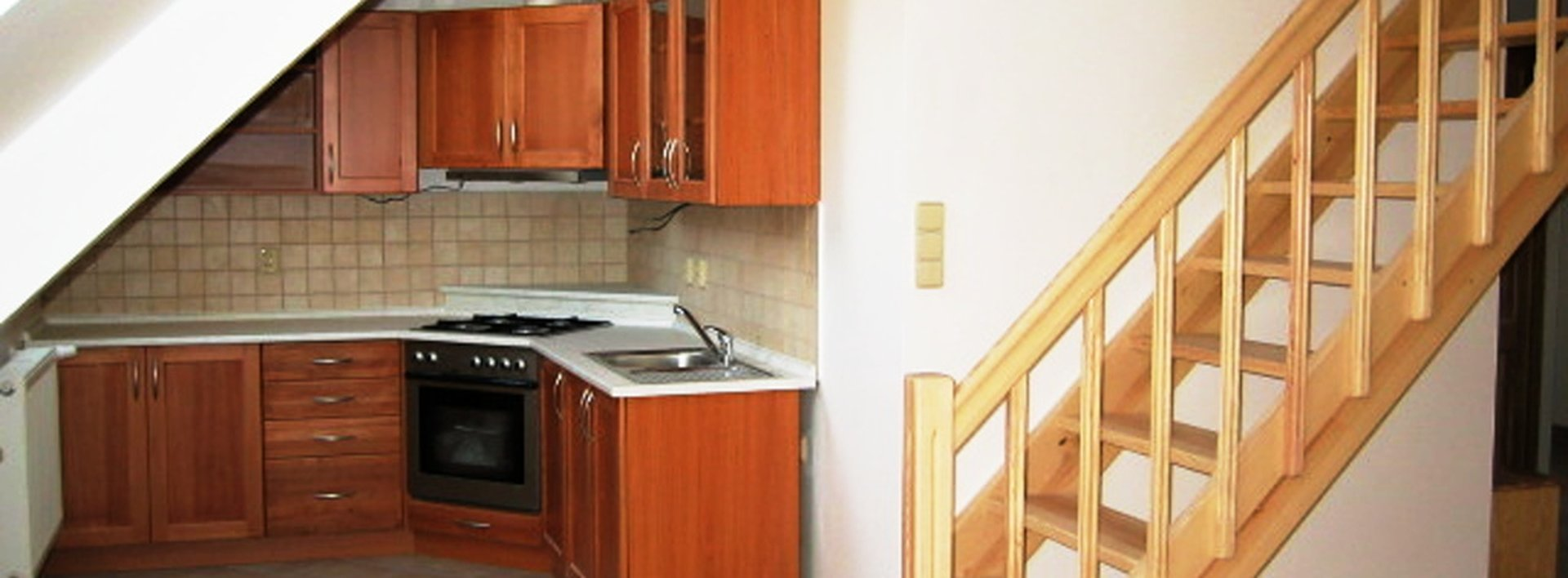 Pronájem podkrovního mezonetového bytu 3+kk s velkou terasou v centru Liberce, Ev.č.: N47358