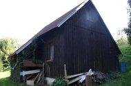 Zadní strana chaty