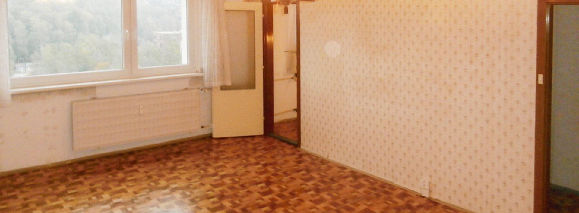 Prodej prostorného světlého bytu 1+1, 40m2, Ev.č.: N47452
