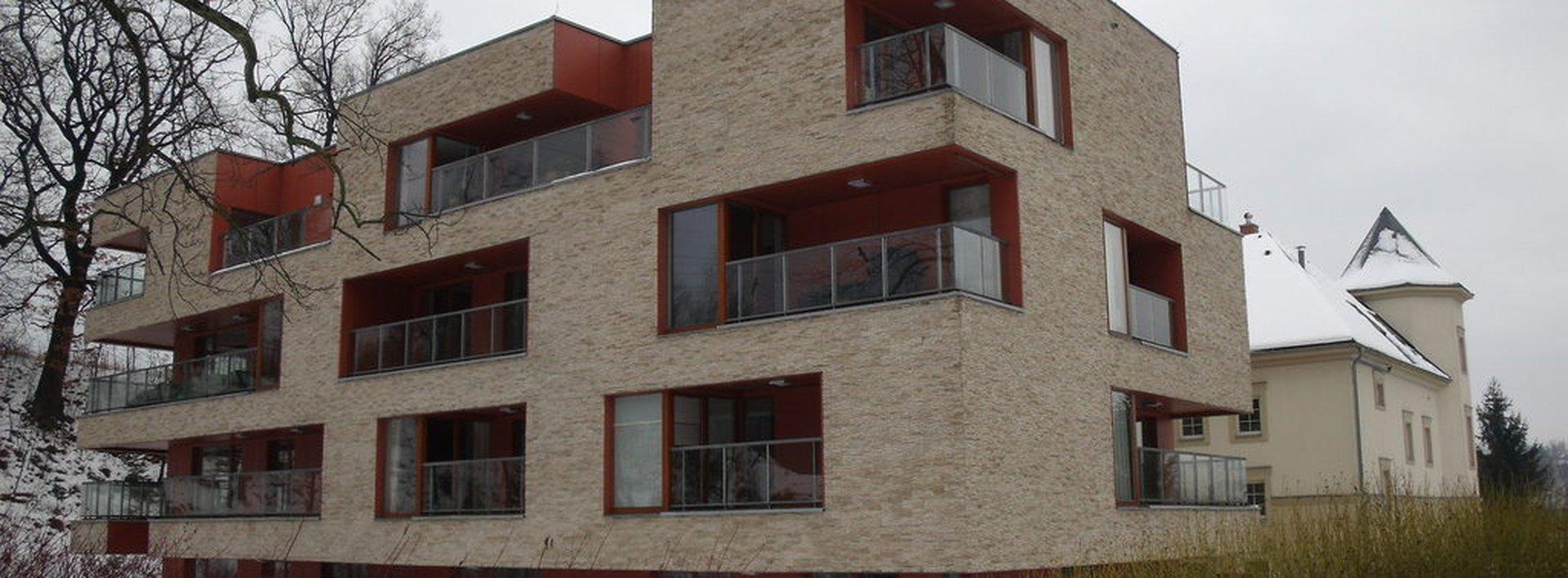 Pronájem luxusního bytu 2+kk/T v Rezidenci - Královská zahrada, Liberec, Ev.č.: N47553
