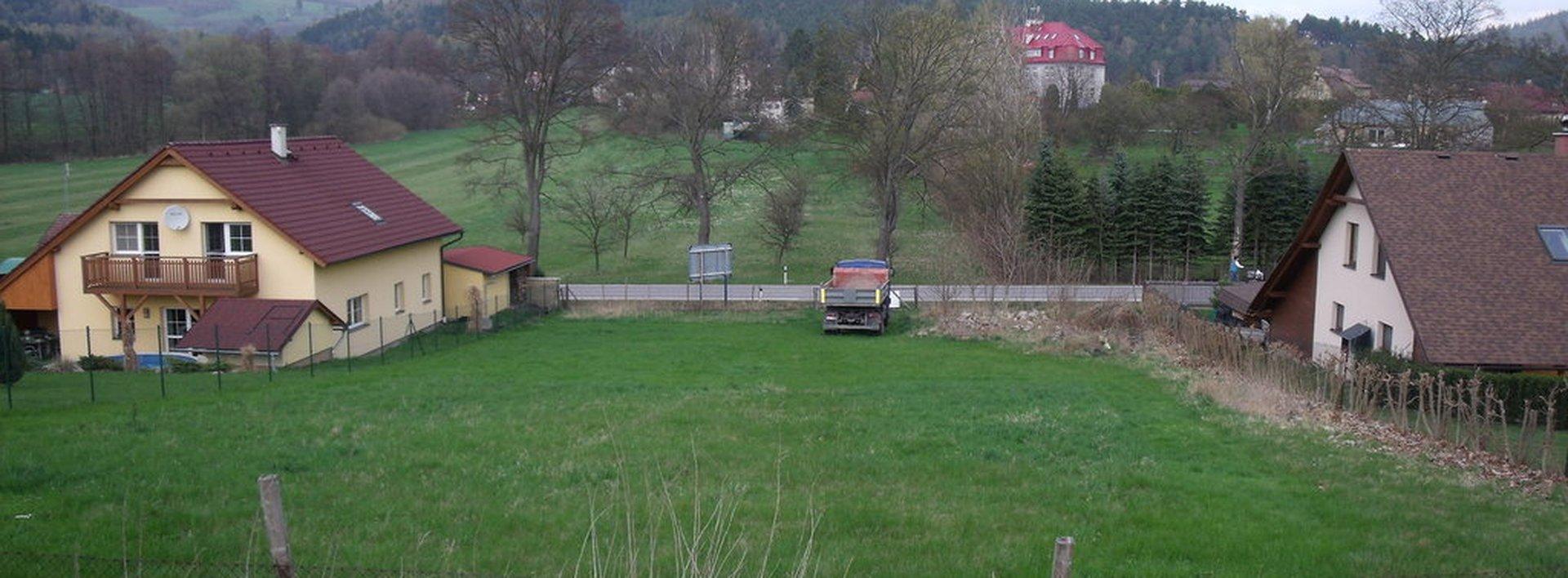 Podej hezkého stavebního pozemku v Hodkovicích nad Mohelkou, Ev.č.: N47566
