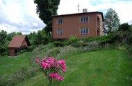 Pohled na dům ze zahrady