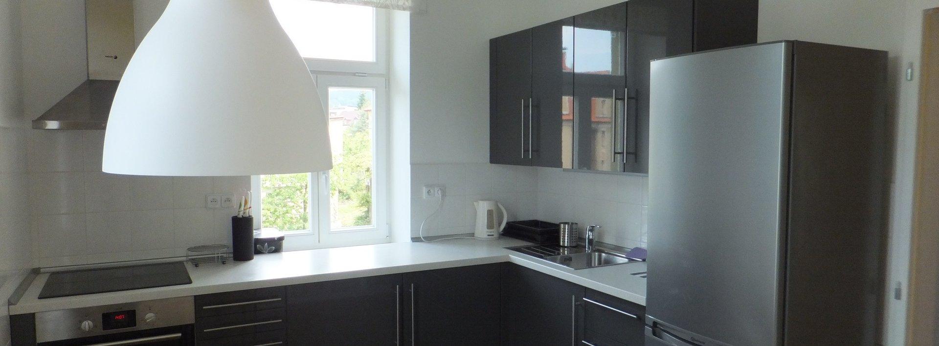 Pronájem bytu ve vile 2+1,  65 m² - Liberec, Staré Město, ul. Kozinova, Ev.č.: N47696