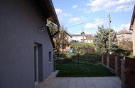 Venkovní terasa + část zahrady