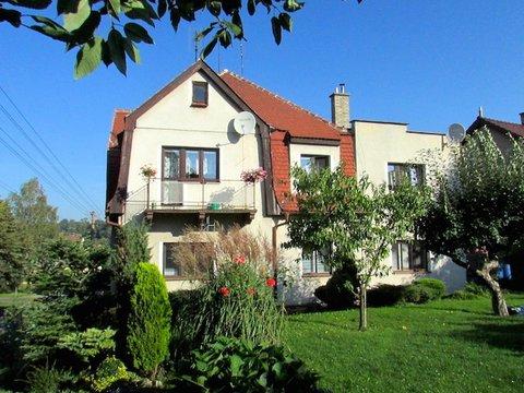 Prodej bytu 4+1, 115 m² v domě se zahradou v Chrastavě