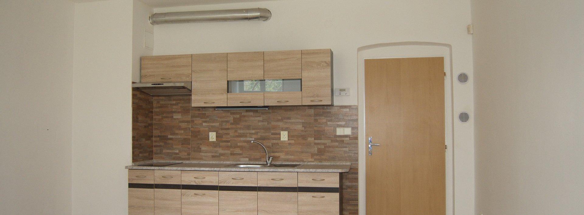 Pronájem zrekonstruovaného bytu 1+kk v Liberci - Starý Harcov, Ev.č.: N47894