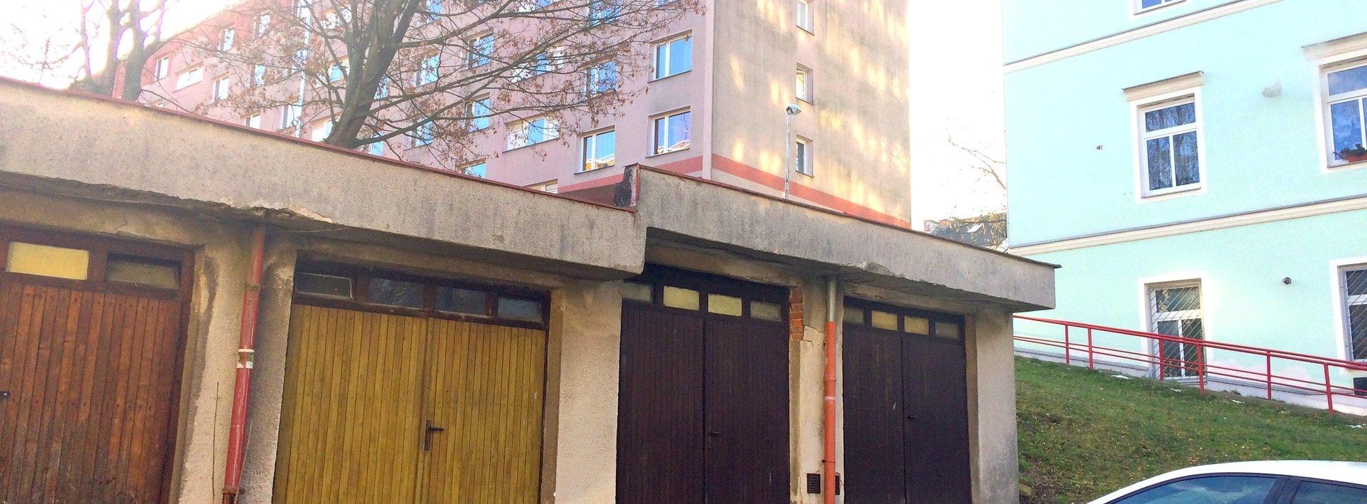 Pronájem garáže, 20m² - Liberec -Jeřáb, ul. Františkovská, Ev.č.: N47928