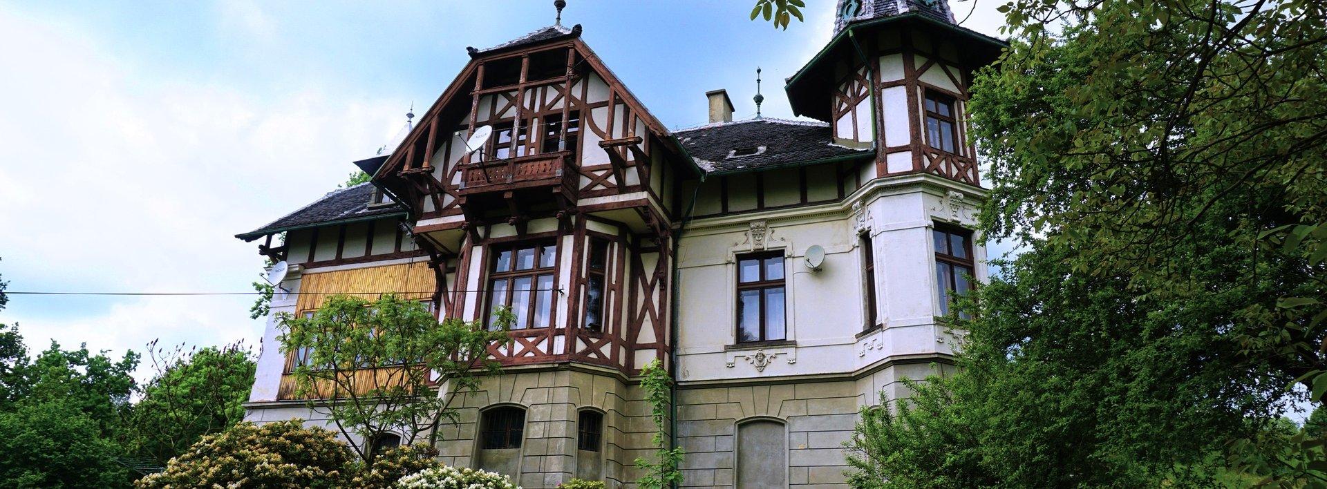 Prodej vily z 19. století, Ev.č.: N47930