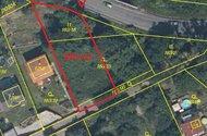 Horoměřice pozemky pod cestou - 890 m2
