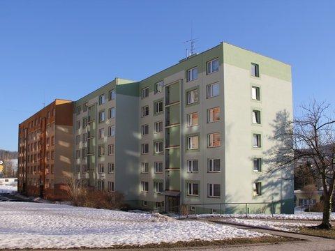 Prodej slunného bytu 1+1 ve Vratislavicích n. N.