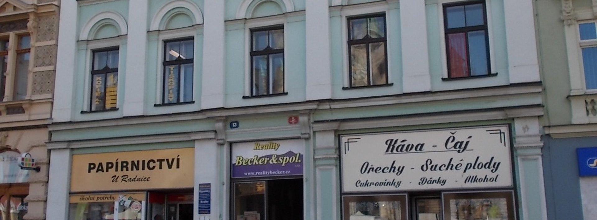 Pronájem, Kanceláře, 77 m² -  nám. Dr. E.Beneše, Liberec, Ev.č.: N48024