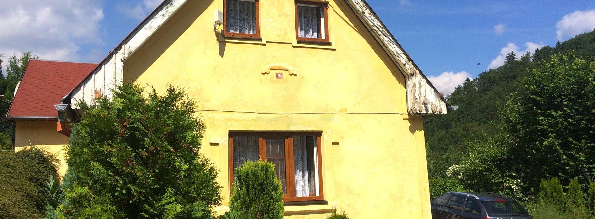 Prodej rodinného domu se zahradou 10.262 m2 - Kryštofovo Údolí u Liberce, Ev.č.: N48127