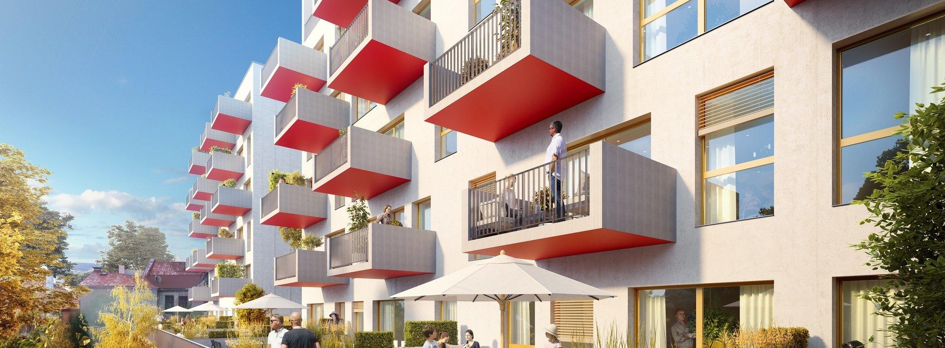 Jižní byt 3+kk v centru Liberce s prostornou terasou, Ev.č.: N48338
