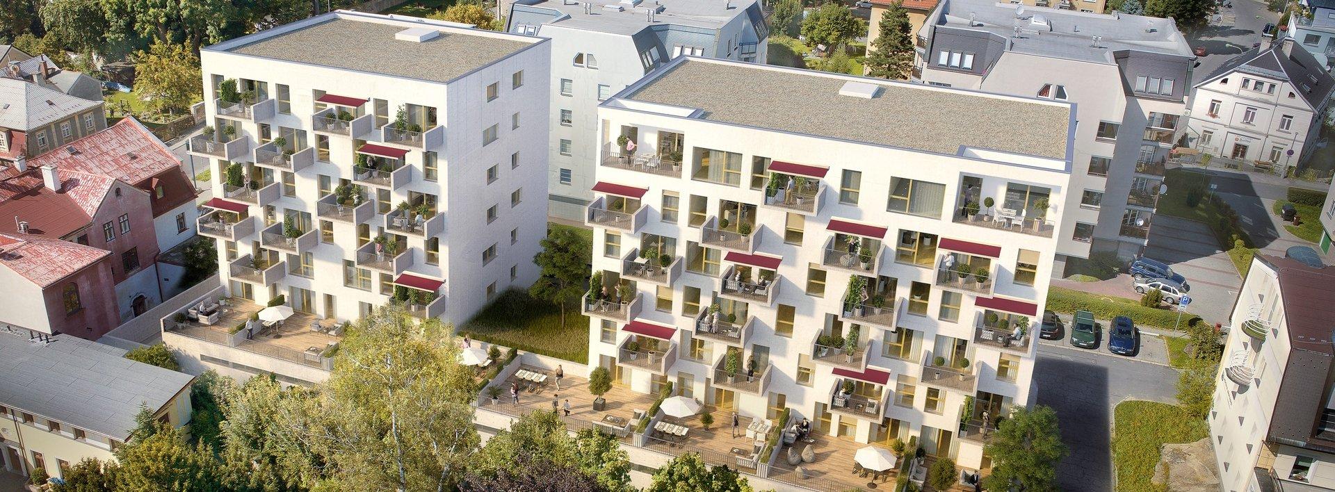 Jižní byt 3+kk v centru Liberce s prostornou terasou, Ev.č.: N48371