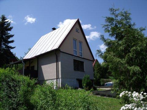 Koupě hezké rekreační chaty v chatové osadě Habřina u Úštěku