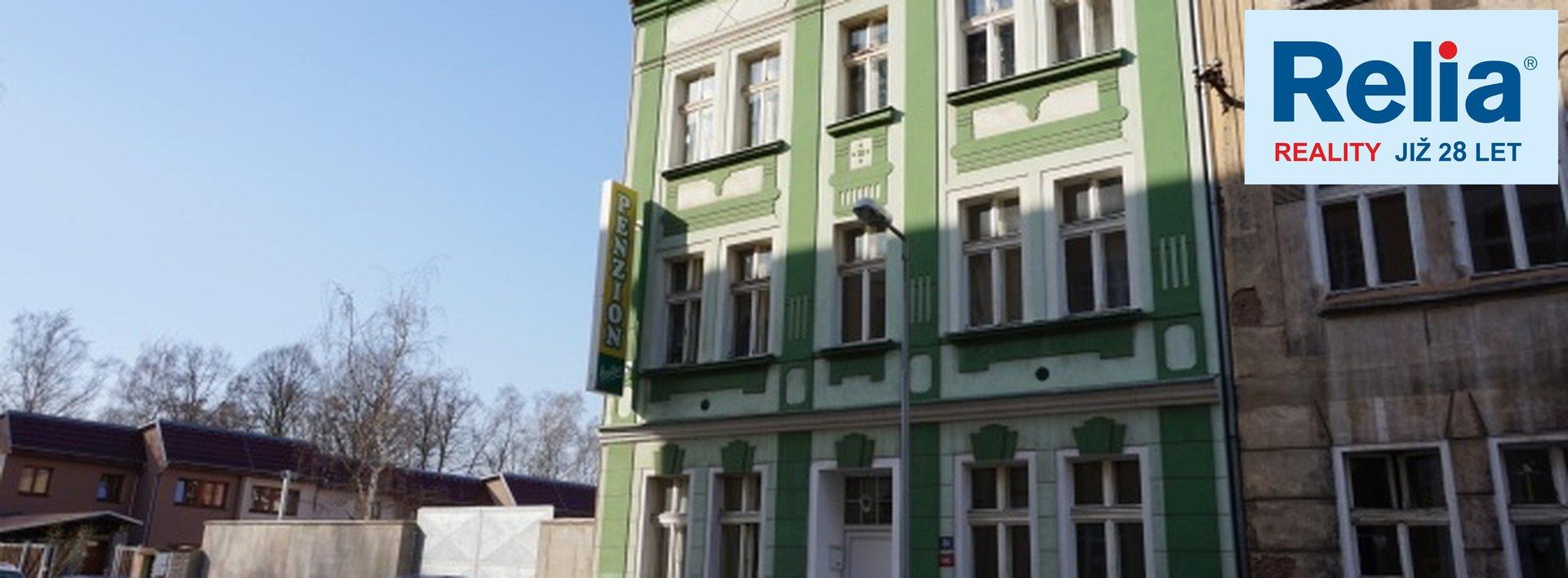 Prodej, dům činžovní, 490m², Československých legií, Trnovany, Teplice., Ev.č.: N48447