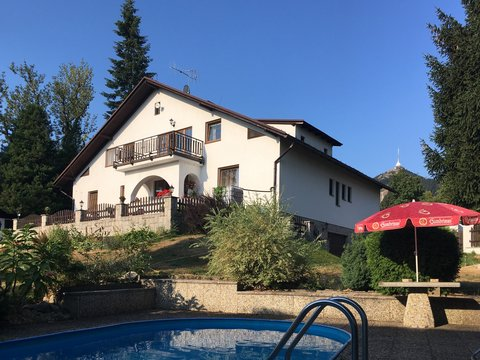 Prodej výjimečného rodinného pensionu, 520 m² v Horním Hanychově