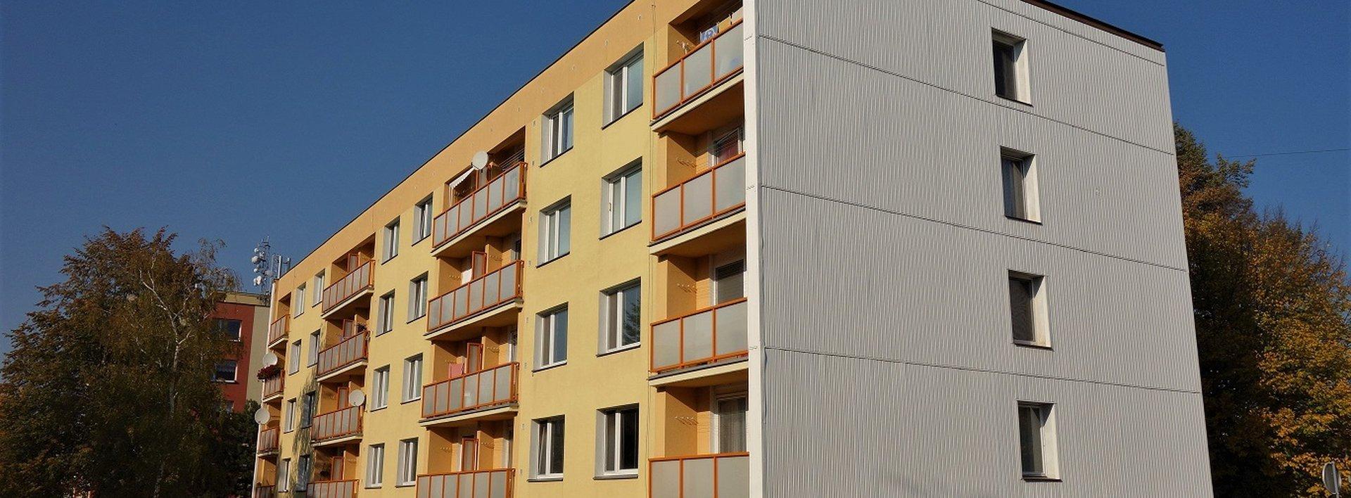 Pěkný byt 1+1 s balkonem, 42 m² - Lázně Bohdaneč, Ev.č.: N48613