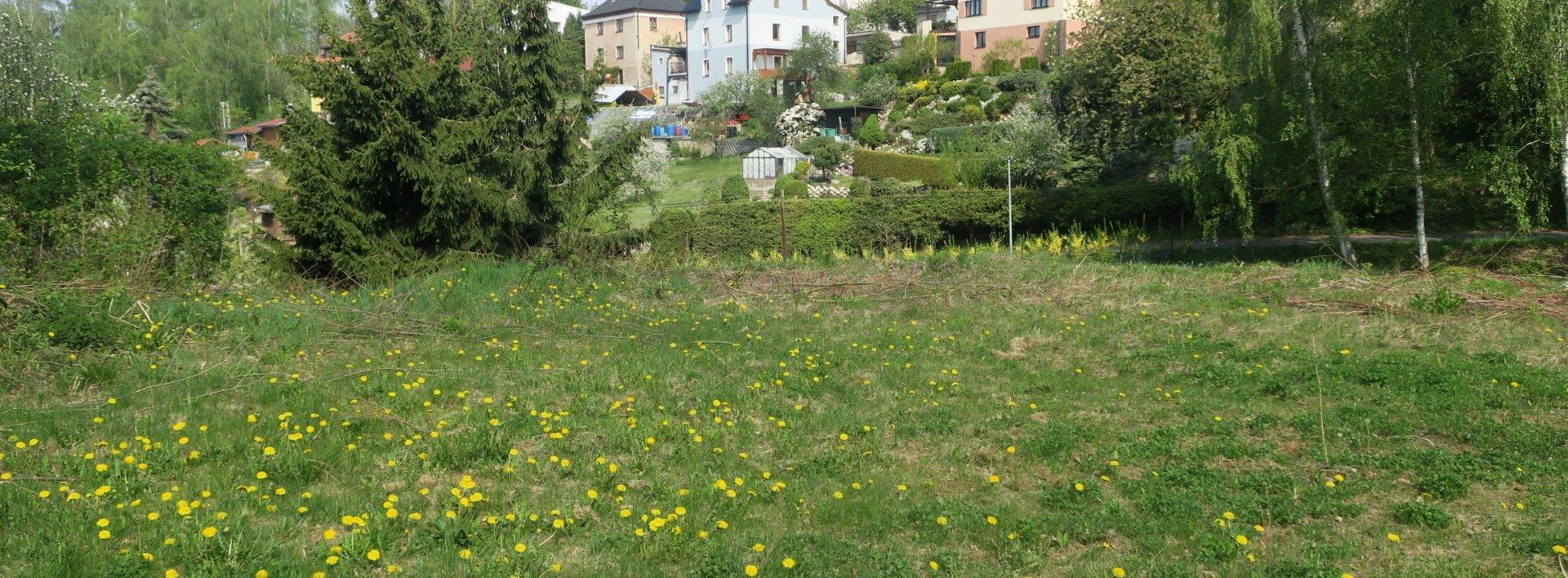 Pozemek v klidné části, nedaleko centra Liberce