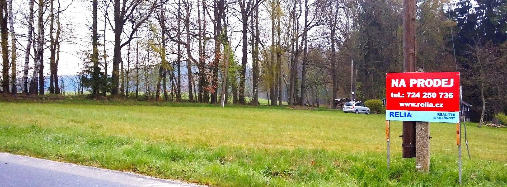 Prodej lukrativních pozemků v obci Jesenný u Semil