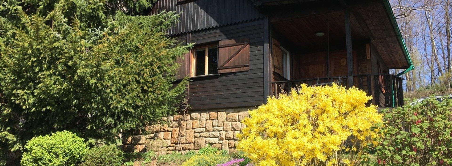 Prodej úžasné rekreační chaty 40 m² - s velkorysou zahradou 1182 m², Ev.č.: N48741