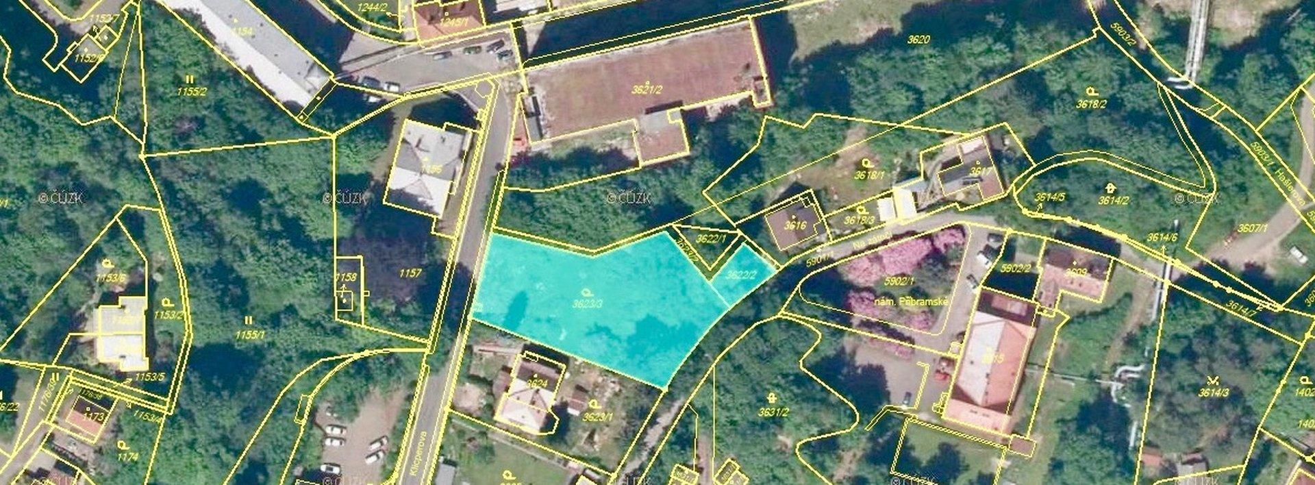 Prodej stavebního pozemku v centru Liberce