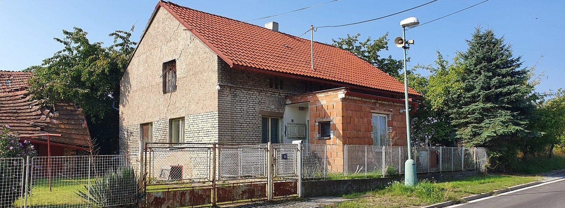 RD za cenu pozemku, 822 m2, Křičeň u Lázní Bohdaneč, Ev.č.: N48859